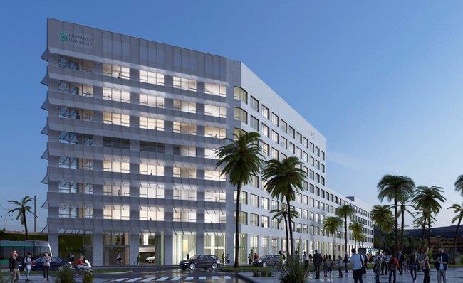 Nice connexio le premier immeuble de bureaux de grand arénas