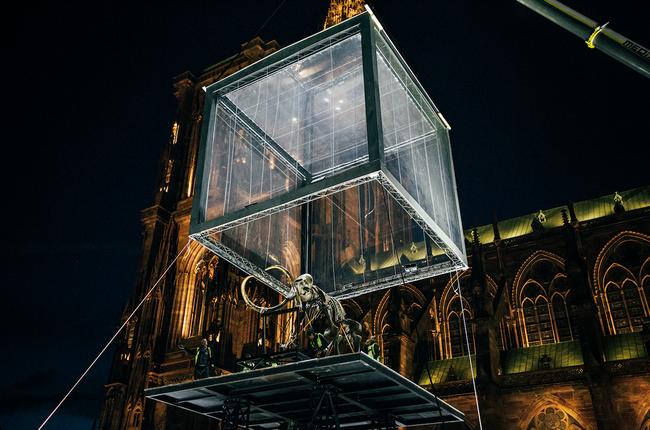 Strasbourg soprema pr sente l 39 oeuvre unique mammouth - Soprema strasbourg ...