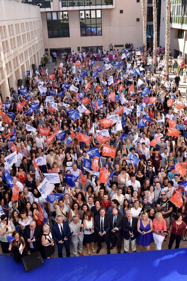 Cérémonie en l'honneur des bacheliers méritants, mercredi 11 juillet 2018
