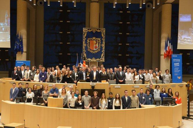 Parlement Régional de la Jeunesse Crédit Yann BOUVIER