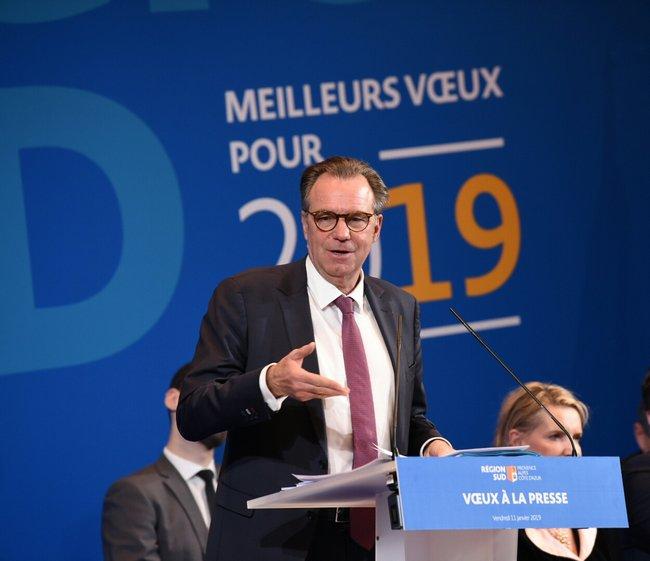 Discours de Renaud MUSELIER - Présentation des vœux à la press Jean-Pierre GARUFI 2 Jean-Pierre GARUFI 2