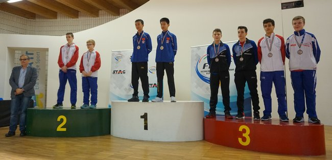 Hugo DESCHAMPS (TT SIX FOURS) brille au niveau international 2