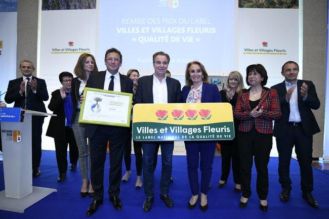 Cérémonie de remise du label Villes et Villages Fleuris RemisePrix-4@Franck-PENNANT 1