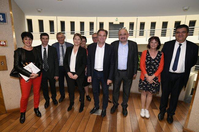 Déjeuner de Renaud MUSELIER avec les Présidents des Chambres d'Agriculture Franck PENNANT