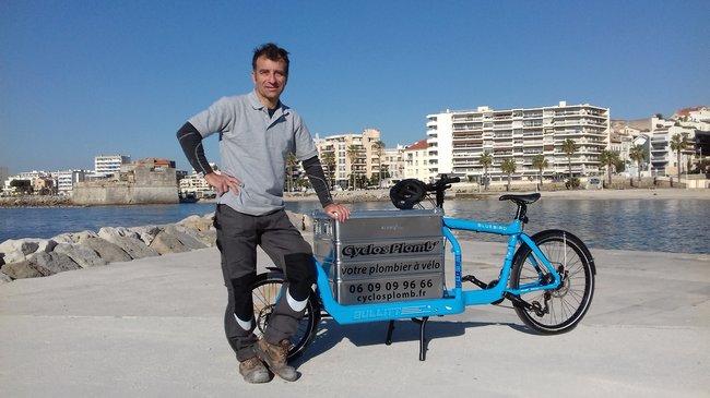Le premier cyclo-plombier débarque à Toulon 1