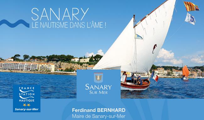 Sanary, le nautisme dans l'âme