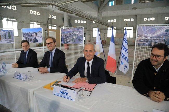 2019-05-15-Signature Permis de Construire Les Halles (c)Ville de Toulon