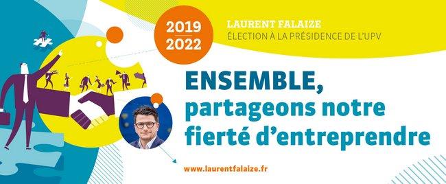 Soutien à Laurent Falaize pour sa candidature à la présidence de l'UPV