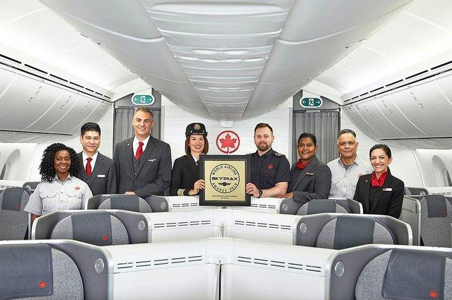 Air Canada nommée meilleur transporteur aérien en Amérique du Nord