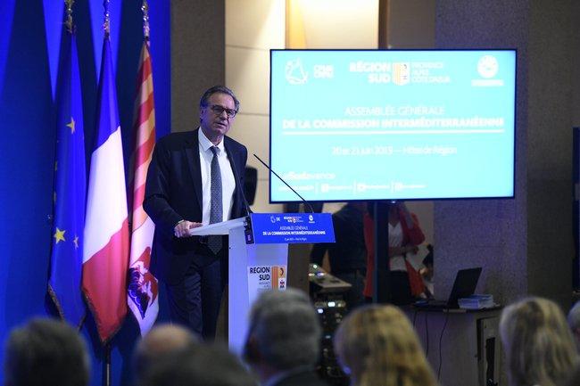 Renaud MUSELIER à l'Assemblée Générale de la CRPM F