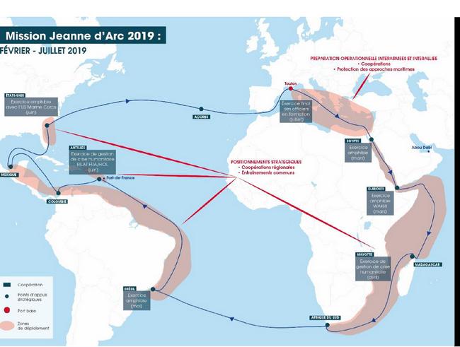 Fin de la mission Jeanne d'Arc 2019 après 5 mois de déploiement opérationnel