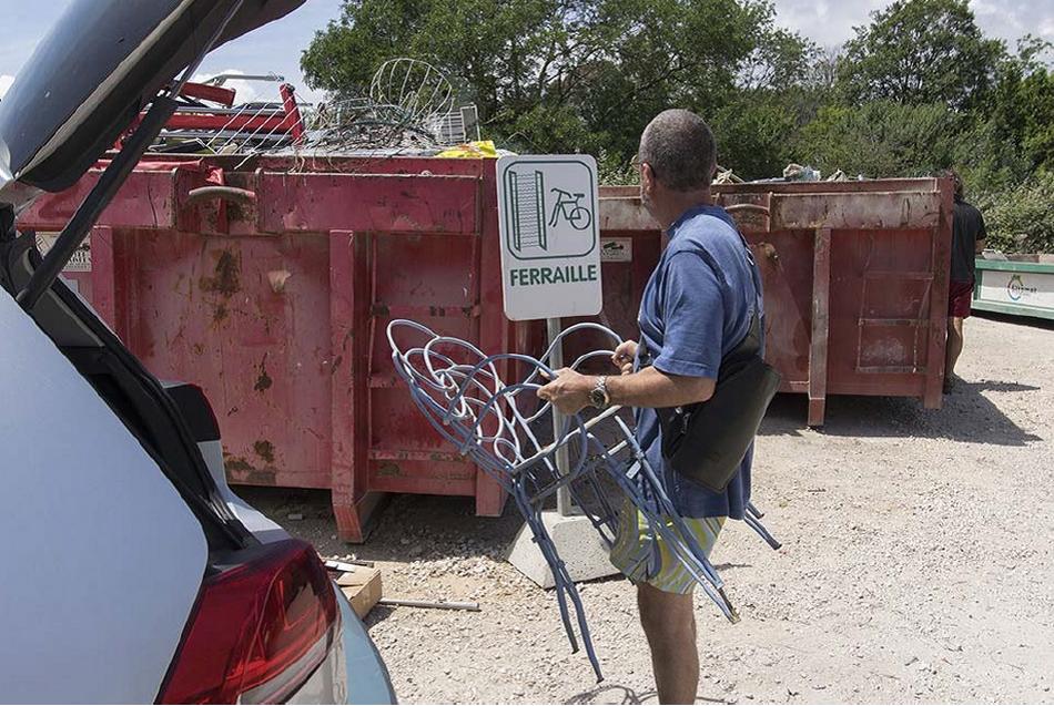 Fermeture exceptionnelle des déchèteries et des aires de déchets verts de TPM
