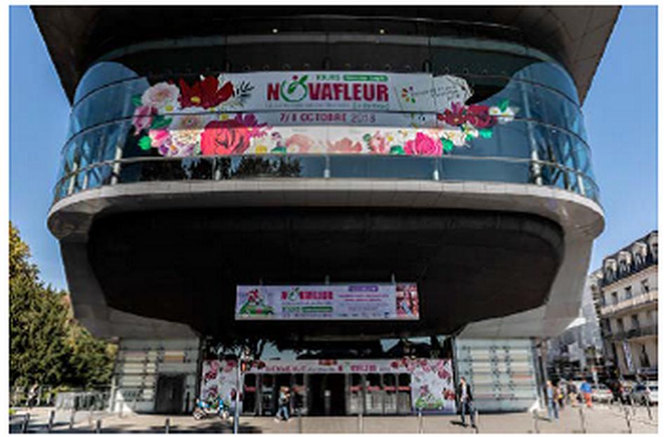 1 marseillaise à la Finale de la Coupe de France des Fleuristes