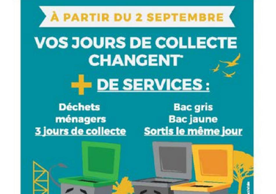 À la Seyne-sur-Mer, les jours de collecte changent pour plus de services 3