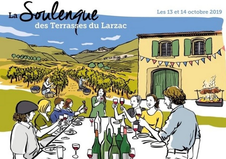 Degustation Professionnelle Terrasses du Larzac 2