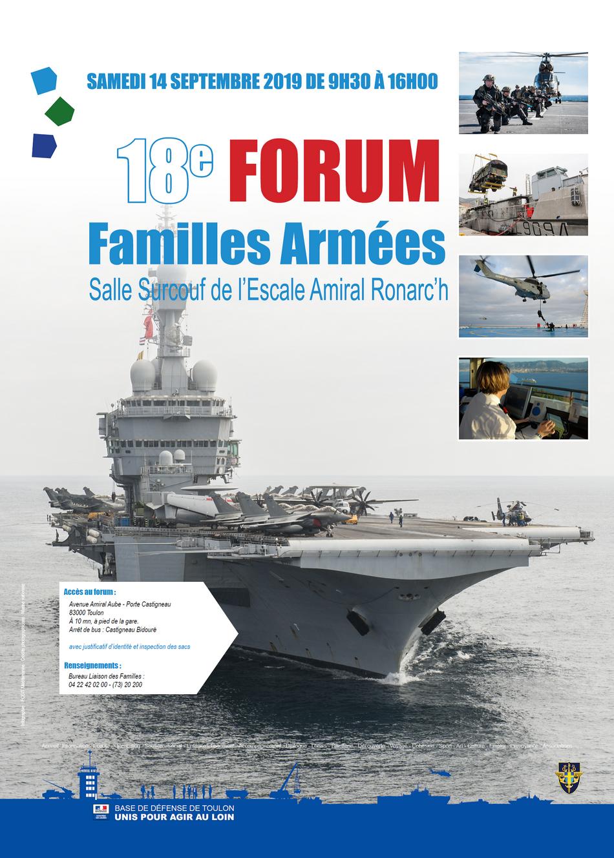 Forum des familles des armées
