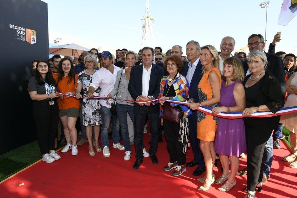 Inauguration du stand de la Région à la Foire de Marseille Franck PENNANT 2