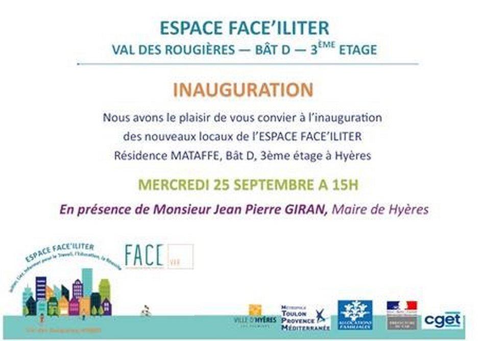 Inauguration Espace de Vie Sociale au Val des Rougières 1