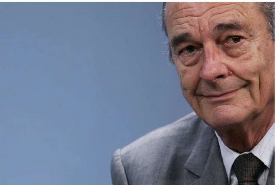 président de la République Jacques Chirac