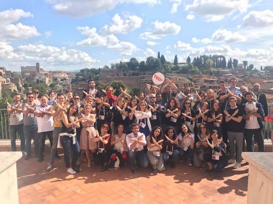 Groupe consécutive au TEDxWeekendRoma