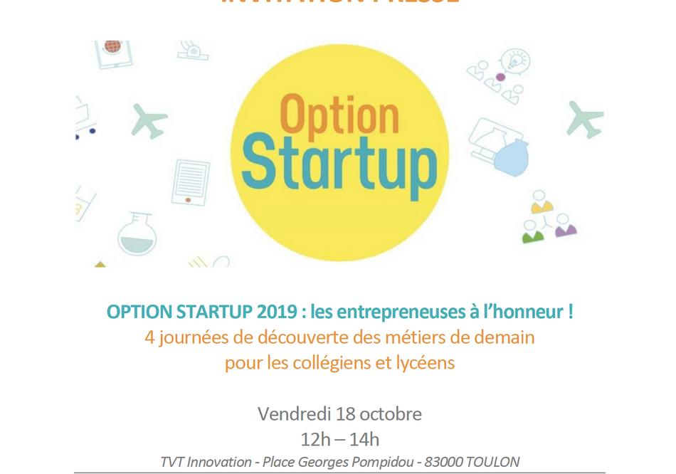 Option Startup 4 journées de découverte des métiers de demain