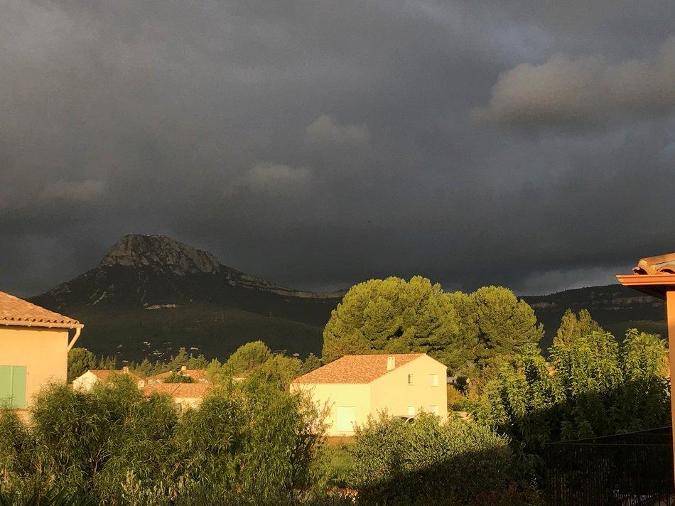 orage à la crau