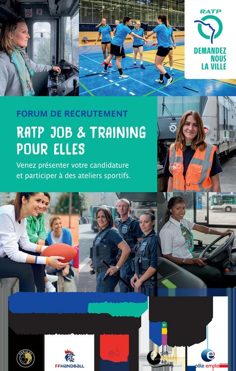 RATP-gala de recrutement-affiche HD