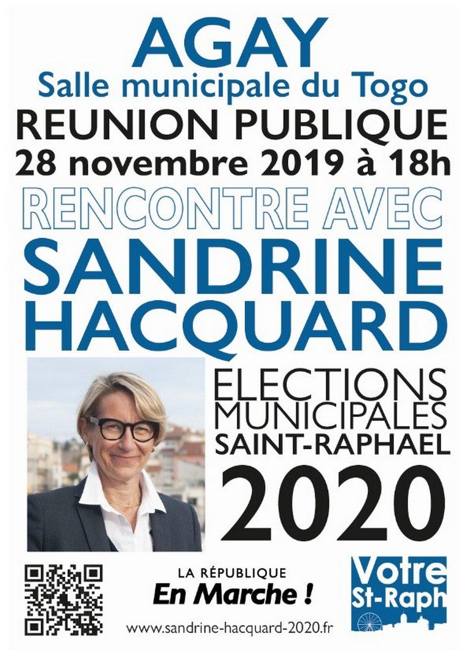 Sandrine HACQUARD, candidate à l'élection municipale de mars 2020