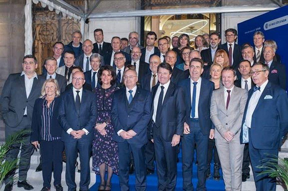 La Chambre de Commerce et d'Industrie Nice Côte d'Azur a présenté ses vœux