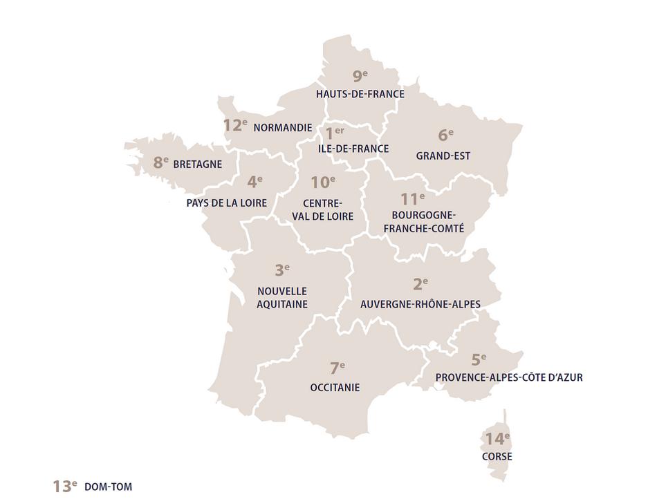 Baromètre de l'emploi 2019 en Provence-Alpes-Côte-d'Azur