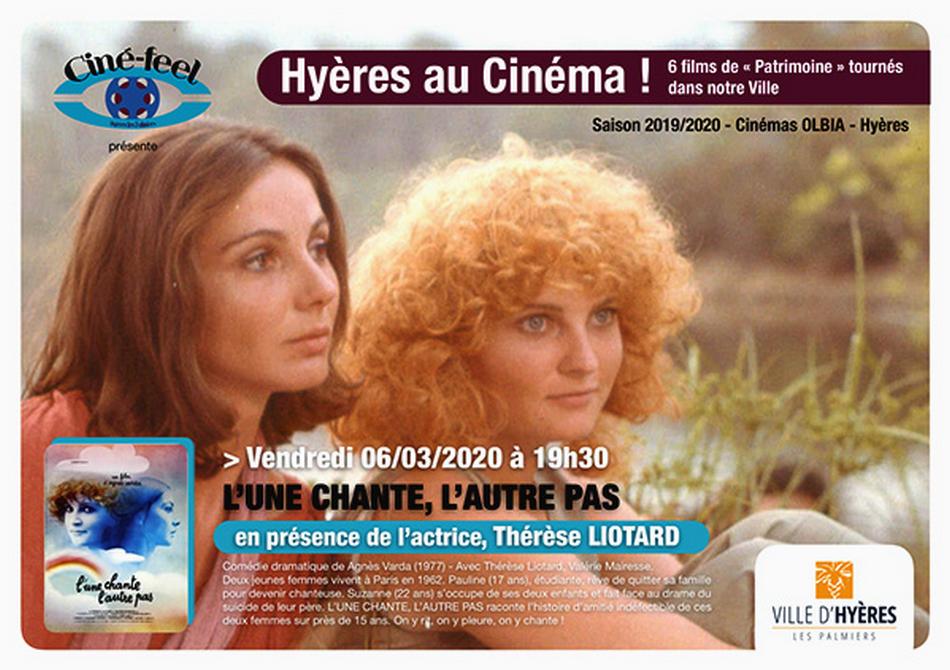 Ciné-feel invite Thérèse LIOTARD