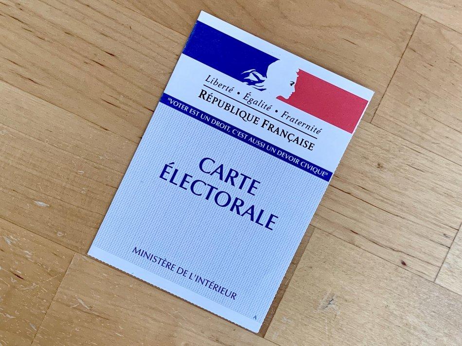 carte électorale 2
