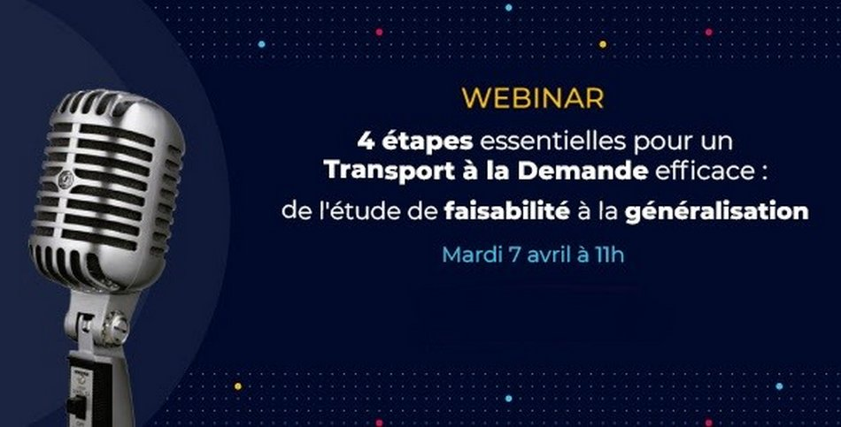 Web-conférence sur le TAD Padam Mobility, mardi 7 avril 2020