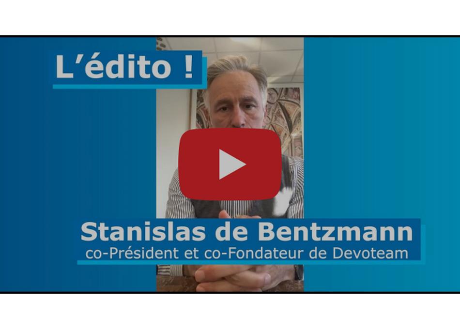 Le journal de bord des entreprises engagées dans la crise du #COVID19. Suivez #EntreprisesEnAction. Parole de Dirigeant Stanislas de Bentzmann, co-Président et co-Fondateur de Devoteam […]