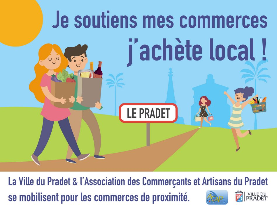 LE PRADET SOUTIENT LE COMMERCE LOCAL