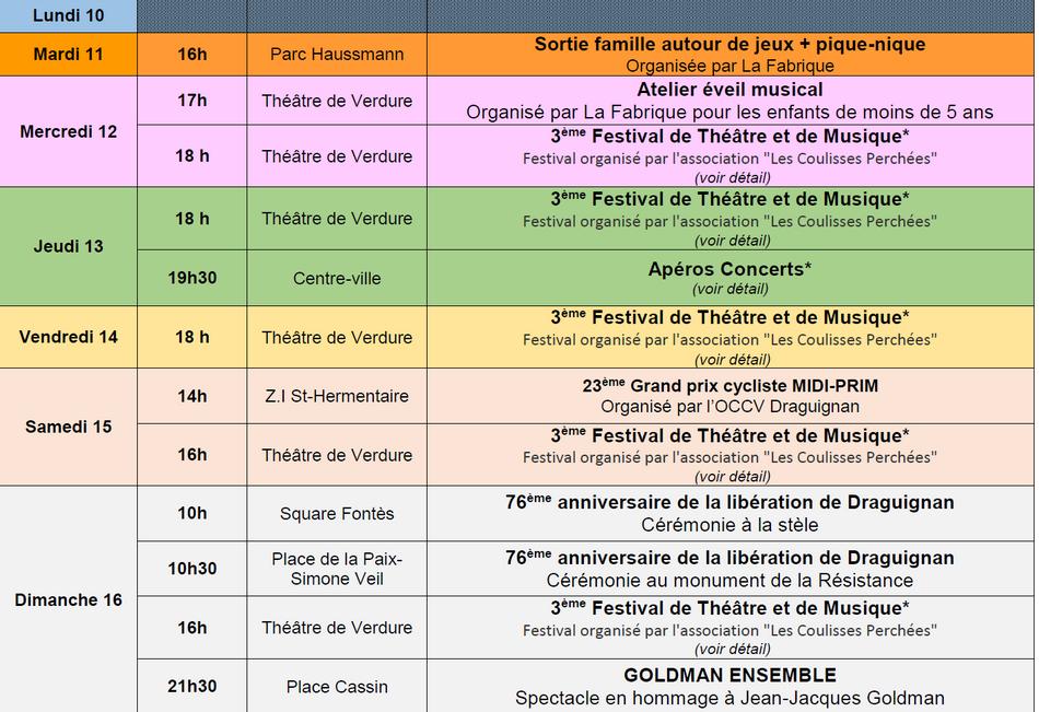 Agenda Monsieur le Maire - S 33