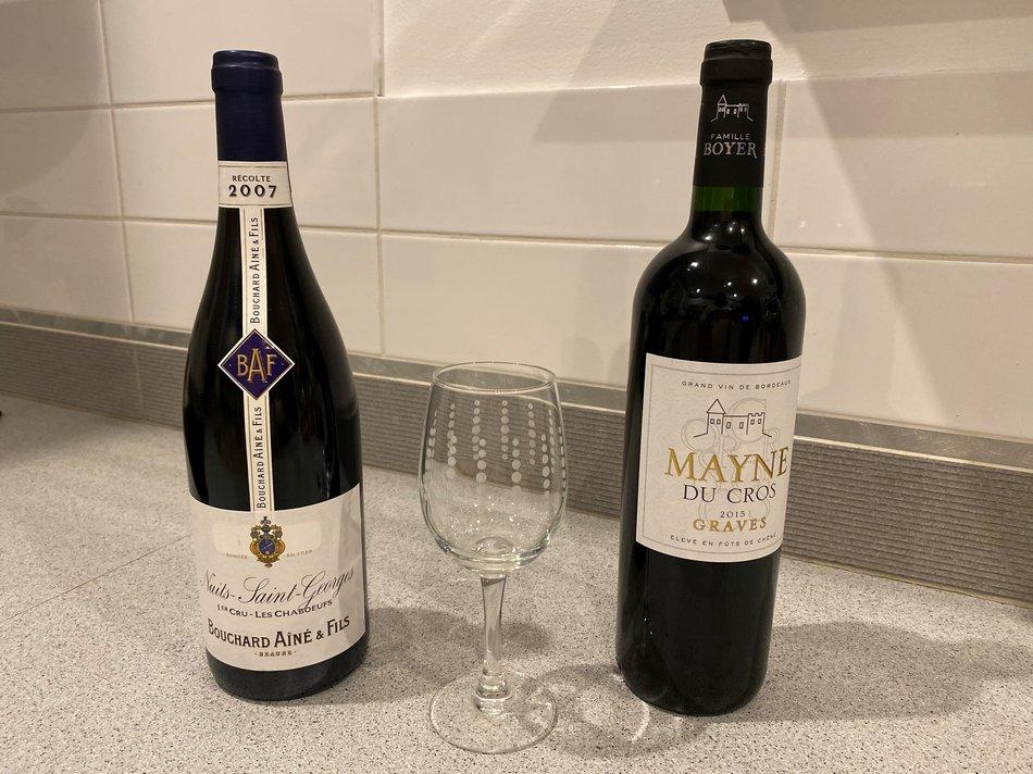 bouteille de Vin 1