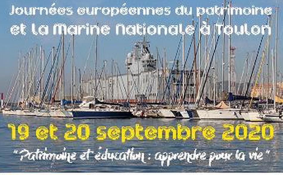 la Marine nationale aux journées européennes du patrimoine