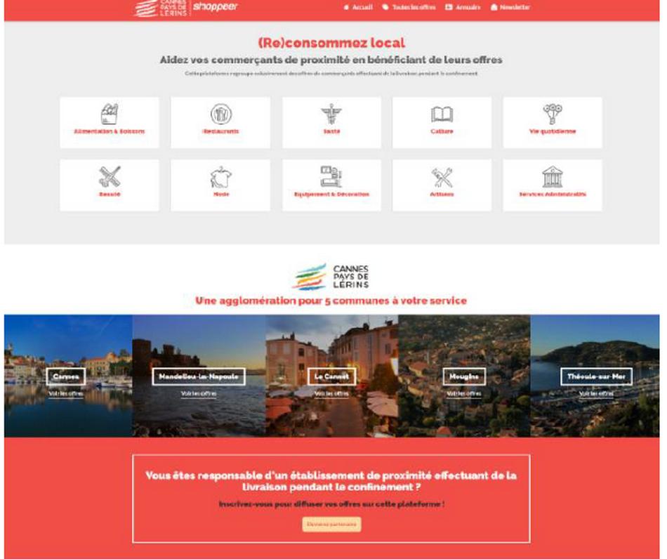 Lancement de l'Application Shoppeer sur Android et Apple Store pour consommer local 3