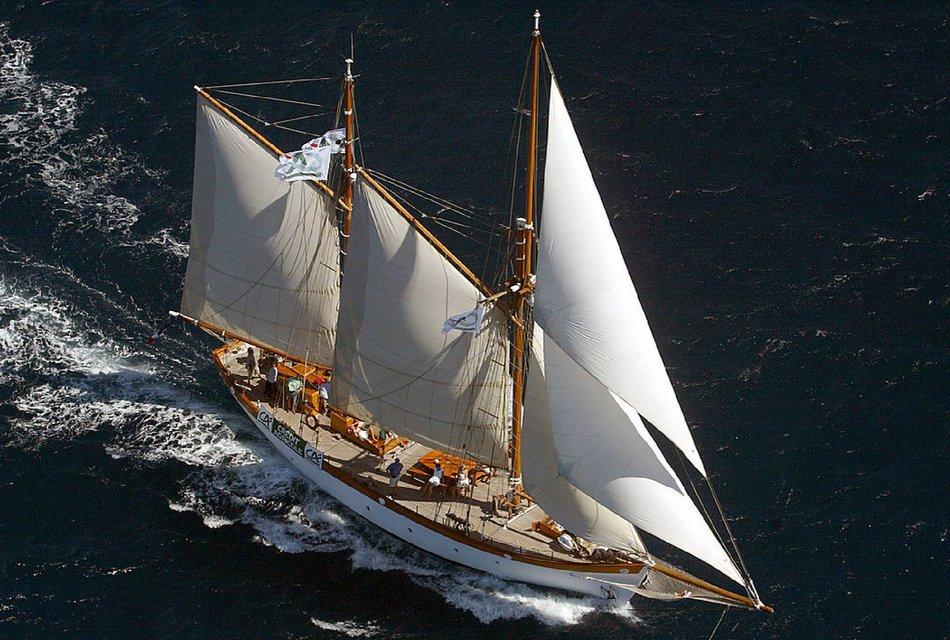Les Voiles de Saint-Tropez à bord KETCH 32 M