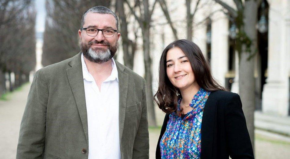 Marion Mashhady et Sylvain Zaffaroni