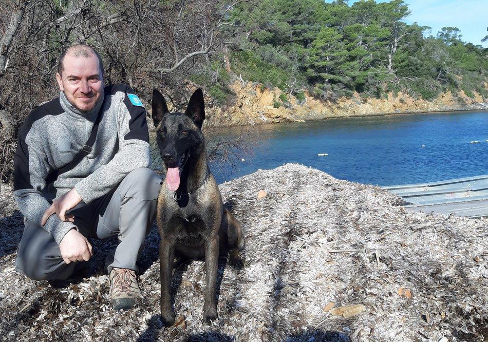 Un chien de détection pour le Parc national de Port-Cros 1