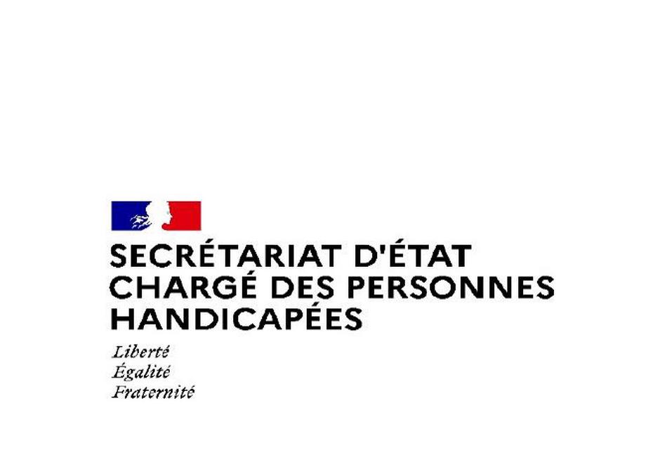 secrétariat d'état aux personnes handicapées