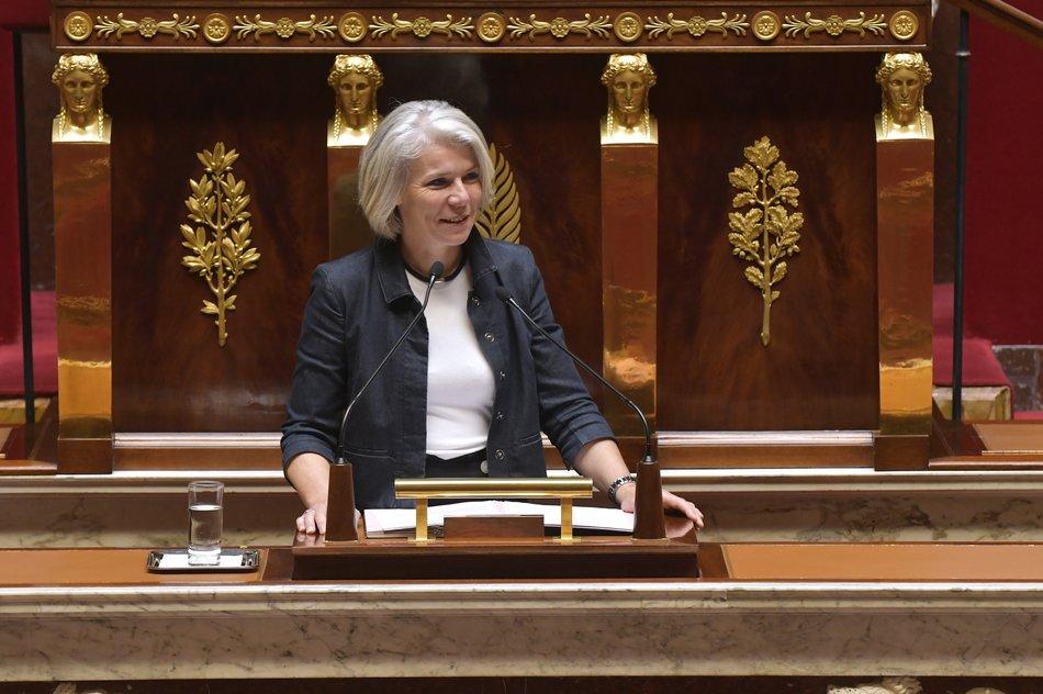 Sereine Mauborgne à l'Assemblée nationale