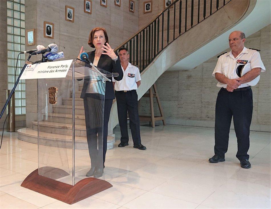Incendie de La Perle, Florence PARLY, la Ministre des Armées, fait le point 1