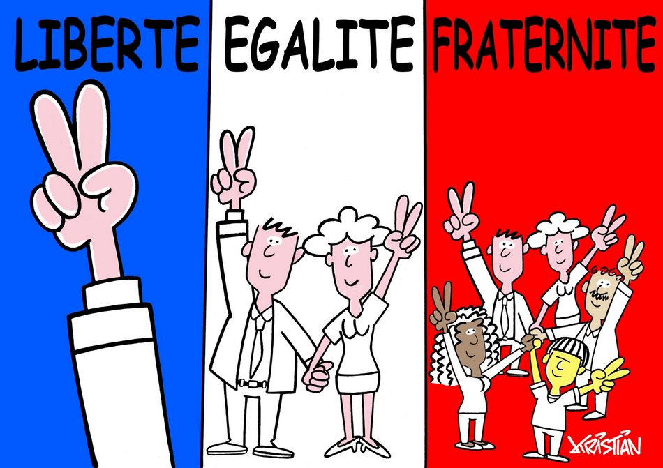 Liberte egalite fraternite 1